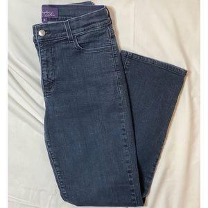 NYDJ Embellished Pocket Blue Jeans
